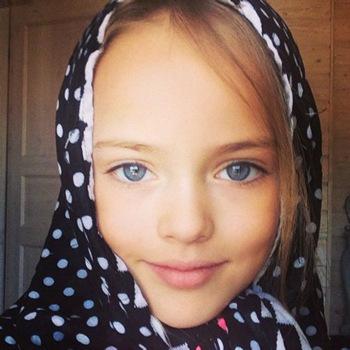 """俄罗斯盛产美女,最近这位人气小童星的走红,证明了俄国美女绝对是""""从"""