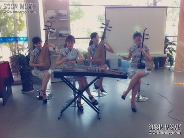 美女民乐四重奏 琵琶演奏 二胡演奏 古筝演奏